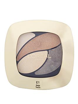 loreal-paris-color-riche-eyeshadow-quad-e1-beige-trench