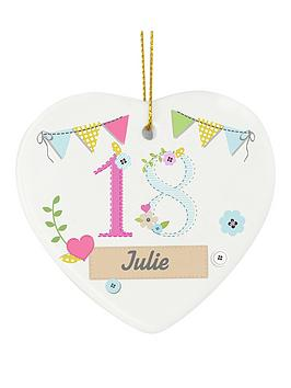personalised-birthday-age-ceramic-hanging-heart