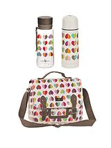 Confetti Lunch Satchel, Water Bottle and Flask Set