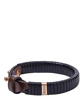 fossil-gents-leather-cuff