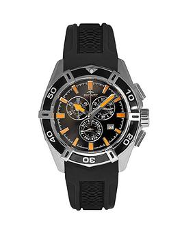 rotary-swiss-aquaspeed-chronograph-black-dial-with-yellow-highlights-black-rubber-bracelet-mens-watch