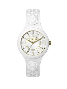 versus-versace-by-versace-fire-island-white-strap-gold-highlights-ladies-watch