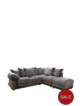 academy-right-hand-single-arm-corner-group-sofa-plus-footstool