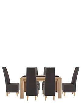 joanna-dining-table-6-manhattan-chairs-buy-and-save