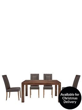 dakota-145cm-dining-table-and-4-opus-dining-chairs