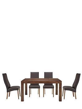 dakota-145-cm-dining-table-and-4-buckingham-chairs