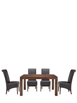 dakota-145-cm-dining-table-4-sienna-chairs