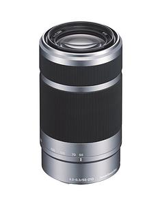 sony-sel55210-e-55-210mm-f45-63-oss-lens-for-nex-silver