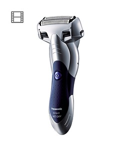 panasonic-milano-es-sl41-3-blade-cordless-shaver-with-arc-foil-silver