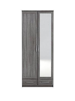 texas-2-door-2-drawer-mirrored-wardrobe