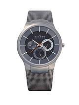 Mikael Grey Multi Dial Mens Watch