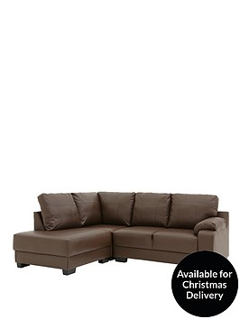 dino-left-hand-faux-leather-compact-corner-chaise-sofa