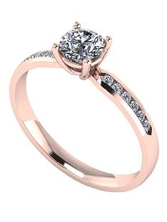 moissanite-9-carat-rose-gold-60-points-solitaire-ring-with-stone-set-shoulders