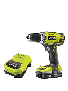 ryobi-rcd18021l-18-volt-one-cordless-drilldriver-with-one-battery-and-charger