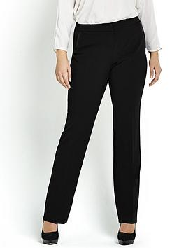 so-fabulous-straight-leg-pu-pocket-trim-trousers