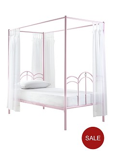 ladybird-ruby-kids-4-poster-single-bed
