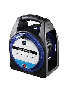masterplug-10-amp-extension-cord-2-sockets-medium-case-reel-15-m