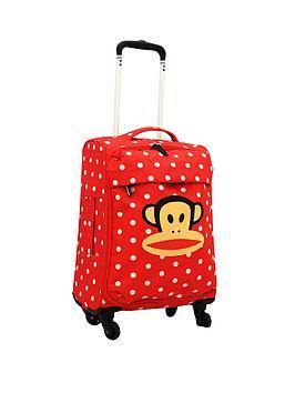 paul-frank-spot-red-trolley-bag
