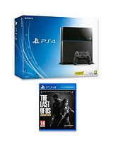 500Gb Console with The Last of Us: Remastered