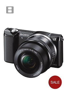sony-ilce5000l-201-megapixel-interchangeable-lens-camera-with-selp1650-lens