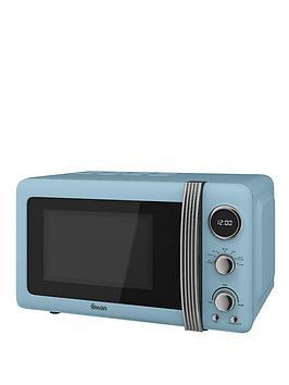 swan-sm22030bln-retro-20-litre-digital-microwave-blue