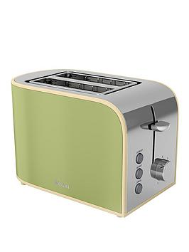 swan-st17020gn-retro-2-slice-toaster-green