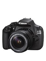 EOS 1200D 18 Megapixel Digital SLR Camera with 18-55mm DC Lens