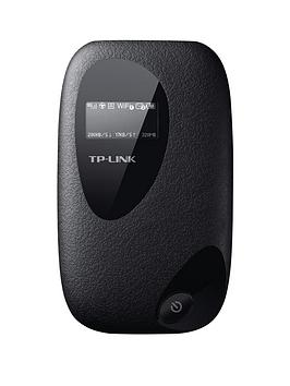tp-link-m5350-3g-mobile-wi-fi-dongle-with-oled-screen-display-black