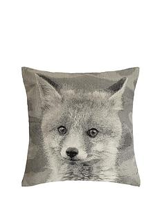 hamilton-mcbride-fox-printed-cushion