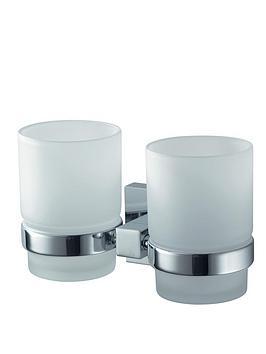 aqualux-haceka-mezzo-double-glass-holder