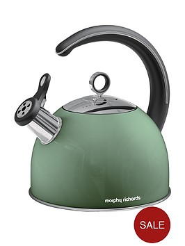 morphy-richards-whistling-kettle-25-litre-sage