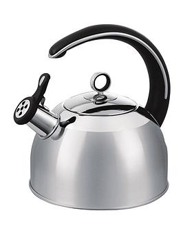morphy-richards-25-litre-whistling-kettle-stainless-steel