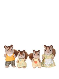 sylvanian-families-walnut-squirrel-family