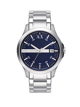 armani-exchange-blue-dial-stainless-steel-bracelet-mens-watch