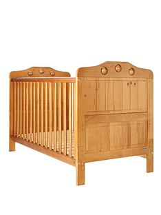 obaby-lisa-cot-bed-with-free-foam-mattress