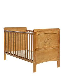 winnie-the-pooh-deluxe-winnie-the-pooh-cot-bed-free-sprung-mattress