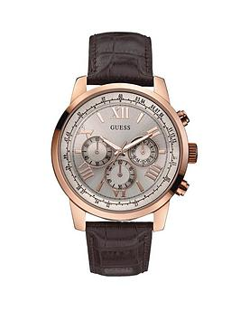 guess-horizon-rose-gold-plated-stainless-steel-mens-watch