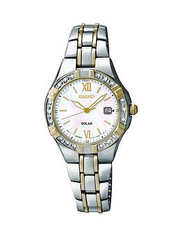seiko-mother-of-pearl-dial-stainless-steel-two-tone-solar-ladies-watch