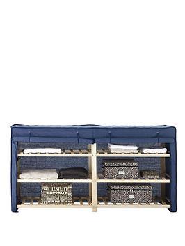 canvas-3-tier-double-shelf-unit