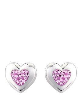 keepsafe-sterling-silver-and-pink-crystal-stud-earrings