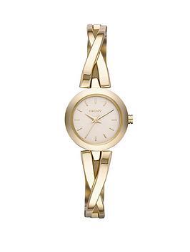 dkny-crosswalk-champagne-dial-gold-tone-ladies-watch