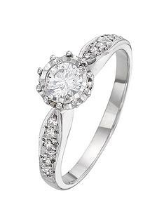 love-diamond-9-carat-white-gold-25-point-illusion-set-diamond-ring-with-stone-set-shoulders