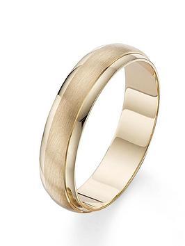 love-gold-9-carat-yellow-gold-6mm-matt-and-polished-wedding-band