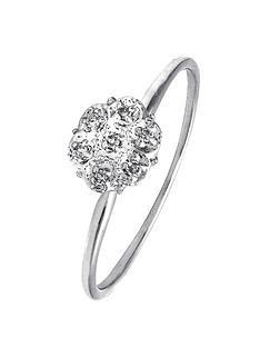 love-diamond-9-carat-white-gold-diamond-set-cluster-ring