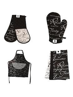 price-kensington-script-kitchen-textile-set-6-piece