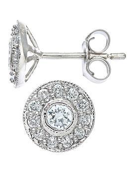 love-diamond-9-carat-white-gold-50-point-cluster-earrings