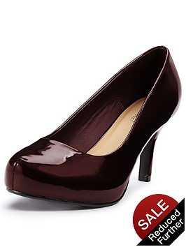 so-fabulous-pitillo-mid-heel-patent-platform-shoes-extra-wide-fit-oxblood