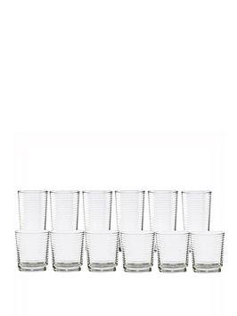 ravenhead-essentials-circles-12-piece-tumbler-set