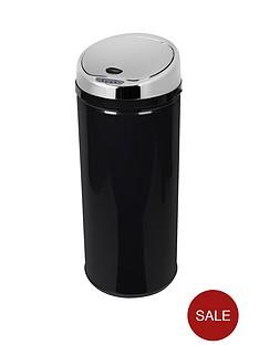 morphy-richards-42-litre-round-sensor-bin-black