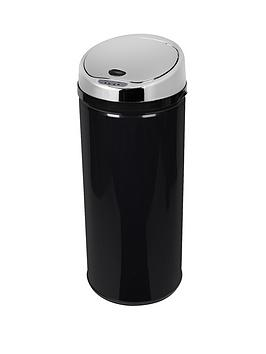 morphy-richards-42-litre-round-sensor-bin-black